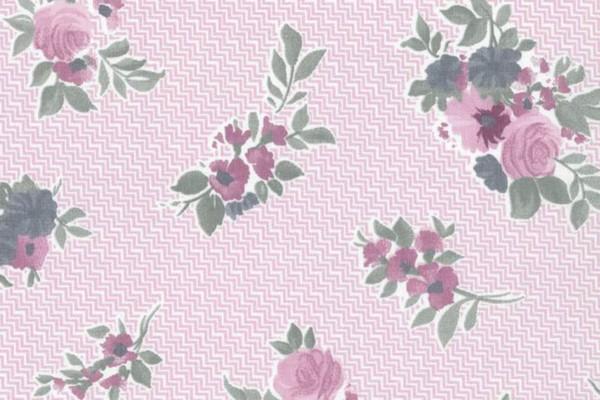 Westfalenstoff Cardiff Blumen rose