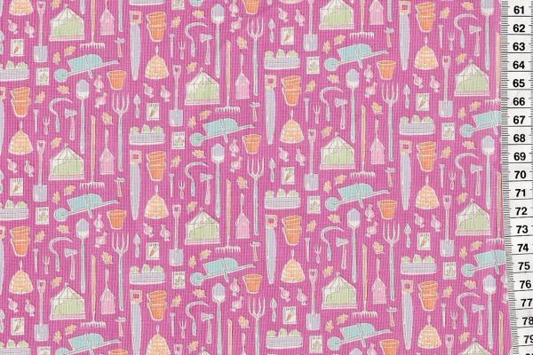 Tilda Tiny Farm Tools Pink
