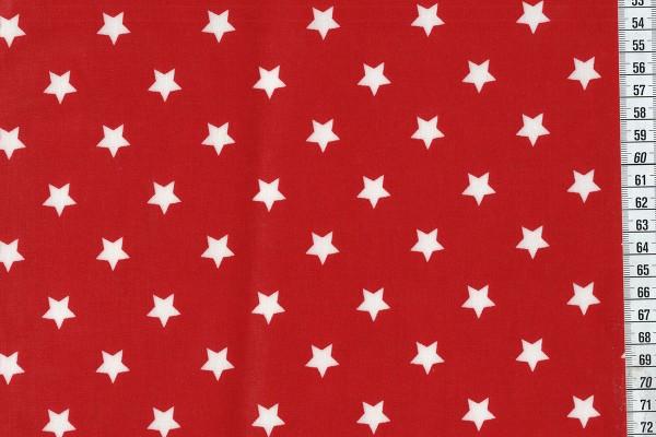 Wachstuch Star Big Red