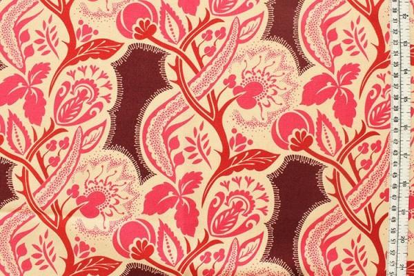 Anna Maria Horner Dowry flourish cherry