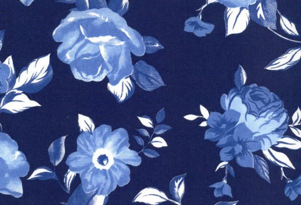 Westfalenstoff Delft Blumen A