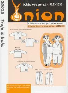 Onion Schnittmuster für Kinder 20025