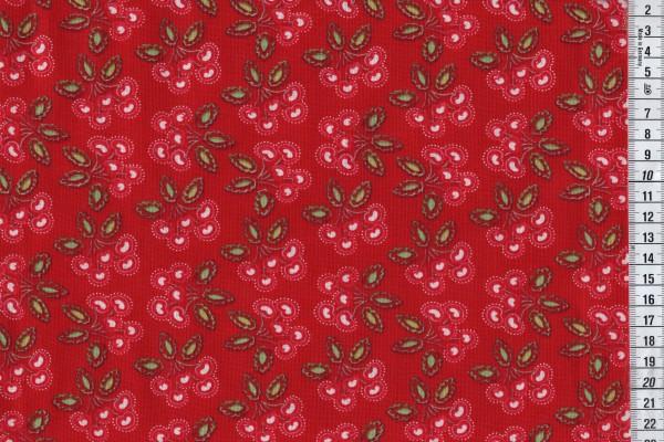 Free Spirit Dena Design Love and Joy Cherry red