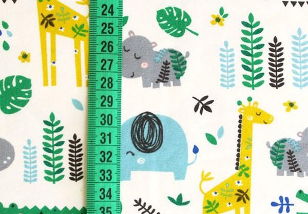 Bio Stretchjersey Cool Jungle
