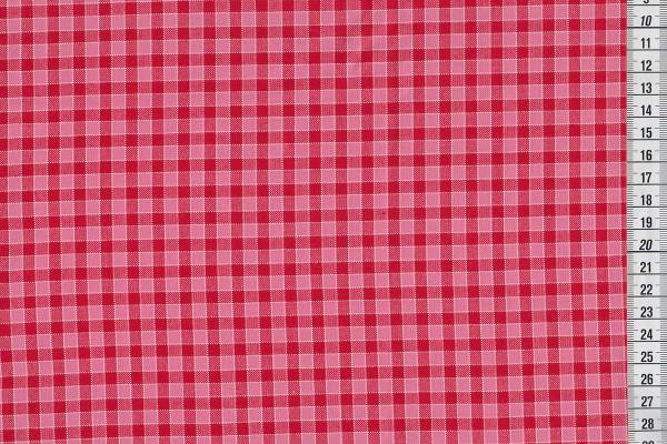 Westfalenstoffe Pompadour Karo groß rot