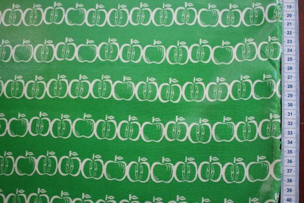 Wachstuch Tréfle Kokka apples green
