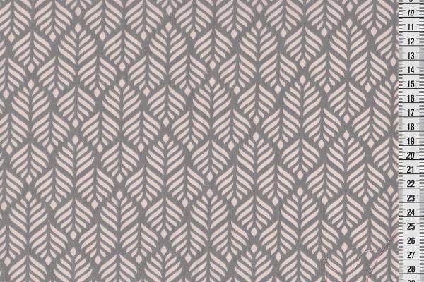 Dekostoff Trigo soft rose/grey