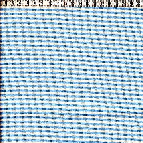 Ringelbündchen natur/hellblau