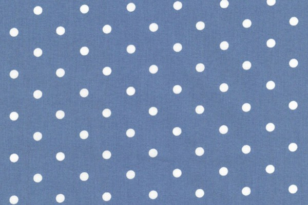 Westfalenstoffe Capri Punkte blau