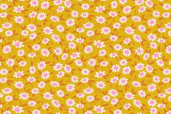 Ruby Star Society Stay Gold Melody Miller Morning Blend Daisy Flower goldenrod