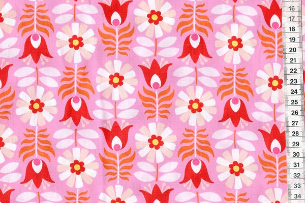 Midsommar by Pippa Shaw Retro tulip pink