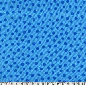 Westfalenstoff Junge Linie Punkte blau groß