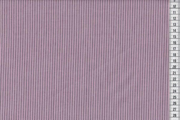 Westfalenstoff Torino Webstoff gestreift mauve violett hell