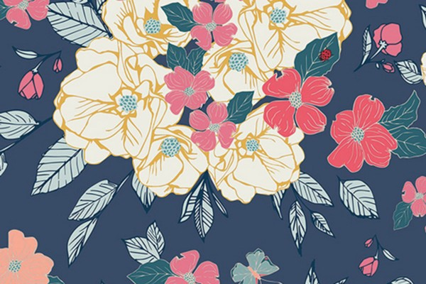 Maureen Cracknell Flower Child Flowery Chant Gentle