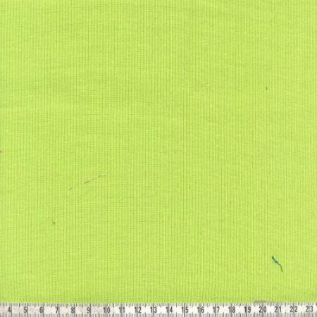 Bündchenstrick lime