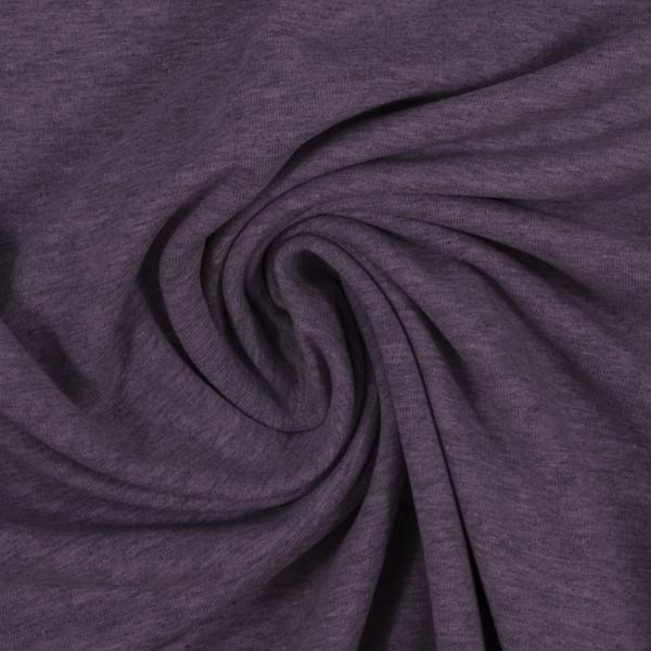 French Terry Maike melange violett