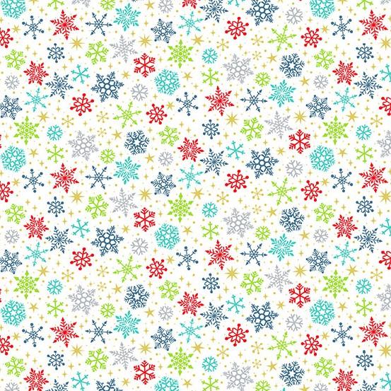 Santa Express Snow-Flurry-Multi