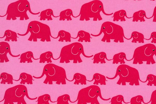 Junge Linie kbA Elefantenparade rosa