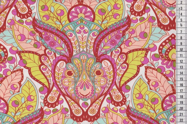 Tula Pink Slow & Steady The Hare Orange crush