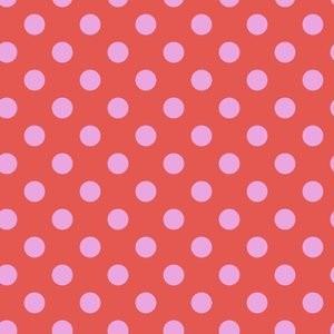 Tula Pink All Stars Pom Poms Poppy