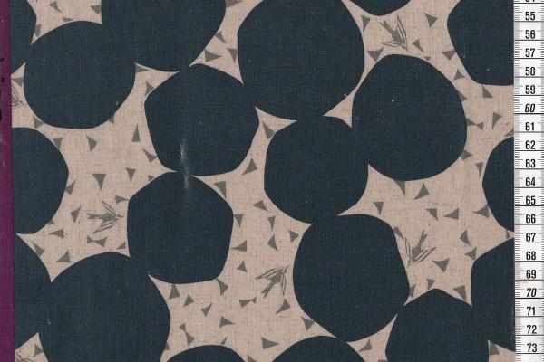 Wachstuch Echino Bubble grey