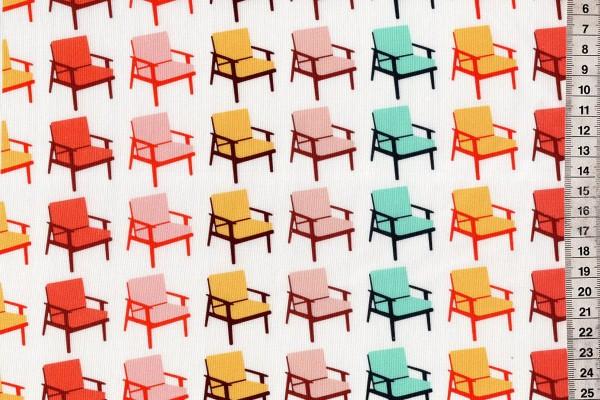 Butterscotch by Dana Willard Chairs White multi