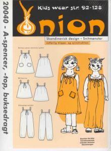 Onion Schnittmuster für Kinder 20040