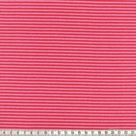 Ringelbündchen Andre rot/pink