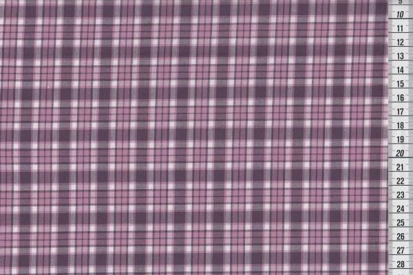 Westfalenstoff Torino Webstoff kariert mauve violett hell