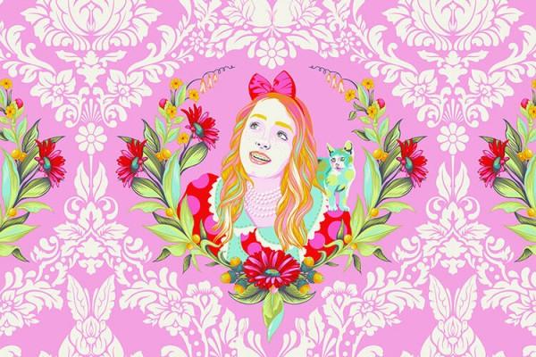 Tula Pink Curiouser and Curiouser Alice Wonder