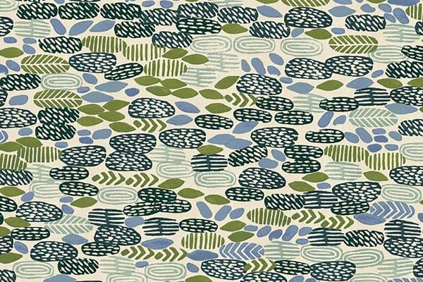 Cotton and Steel Homestead Jeanne McGee Pond Algae