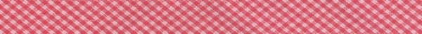 Schrägband Westfalenstoffe Sylt rot