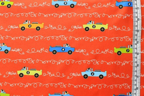 LES MONSIEURS SOFT TOP scribble cars clementine