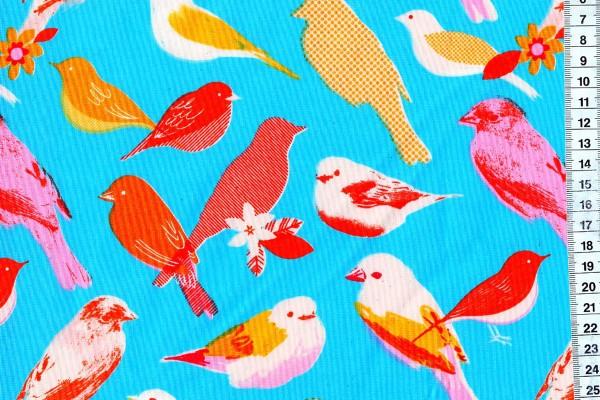 Ruby Star Society Social Birds Bright Blue Melody Miller
