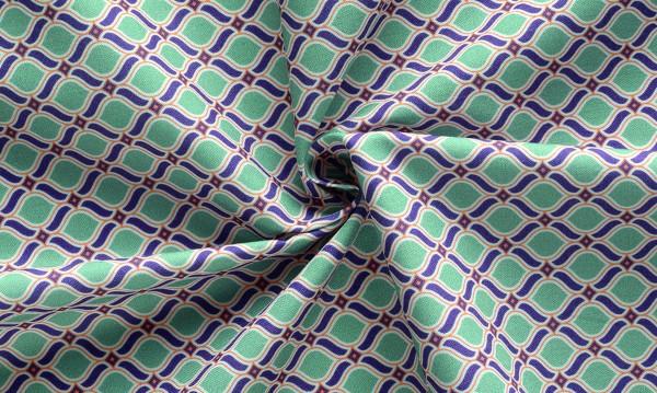 Sense of Harmony Ornamente grau-grün
