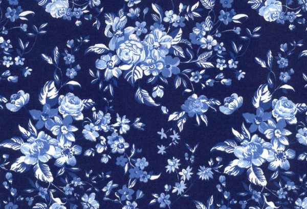 Westfalenstoff Delft Blumen
