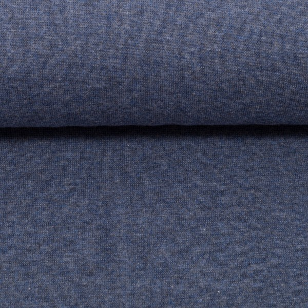 Bündchen Heike melange dunkles jeansblau