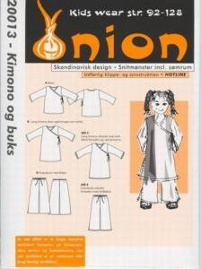 Onion Schnittmuster für Kinder 20013