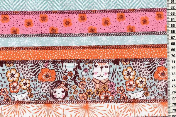 Lillestoff SummersweatZsazsa - Patch Wunderblumen by susalabim