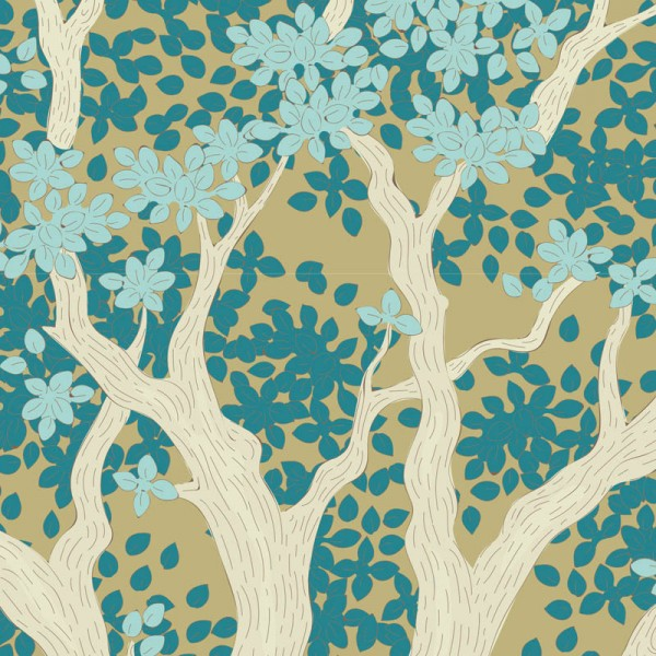 Tilda Woodland Juniper-Teal