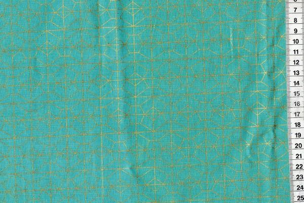 AKOMA by Rashida Coleman Hale metallic türkis