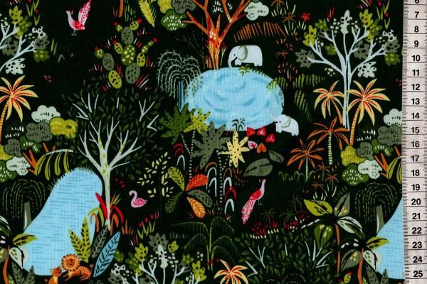Lion Around Jungle Life Ivy