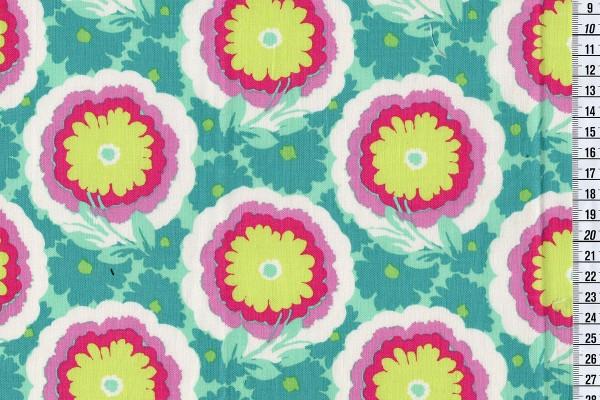 Amy Butler Soul Blossom Buttercups spearmint