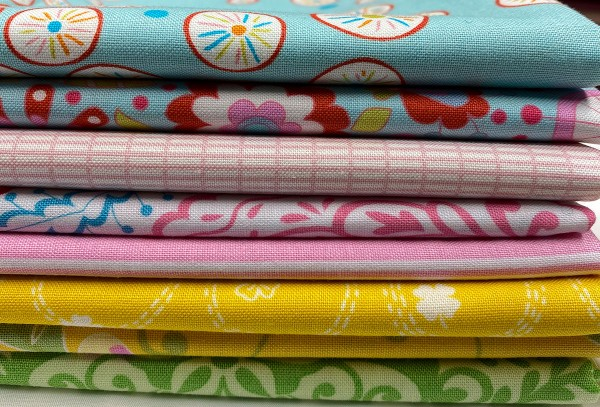 Fat Quarter Set multi colour 2