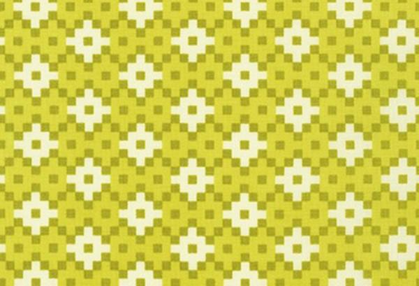Elizabeth Hartman Paintbox Geometric Wasabi