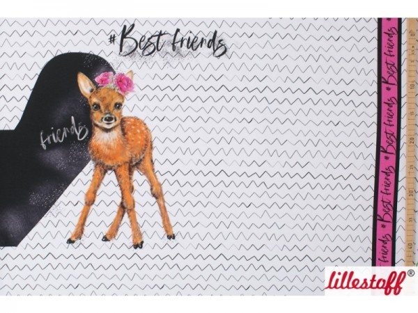 Lillestoff Jersey BFF Best Friends Forever