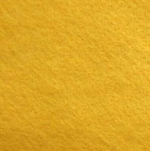 Kunstfilzplatte gelb