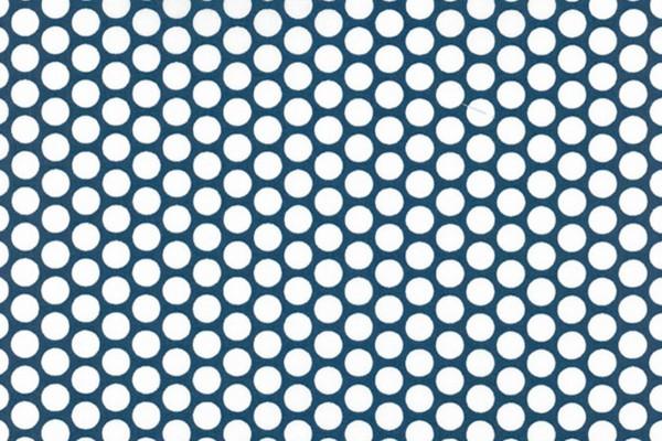 Westfalenstoffe Kopenhagen Punkte jeansblau/weiß