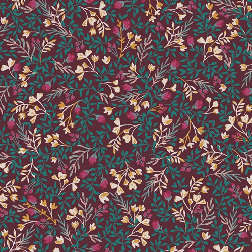 Art Gallery Fusion Foresta Floral No. 9 Amy Sinibaldi