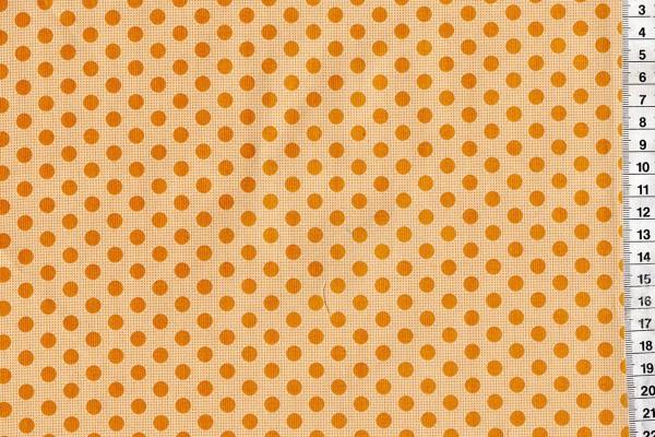 Tilda Medium Dots Flaxen Yellow